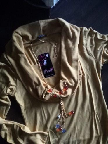 Prelepa ženska oker majica univerzalna veličina. - Ruma