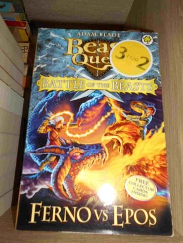 Decija knjiga na engleskom jeziku Beast Quest-Ferno vs Epos  - Belgrade