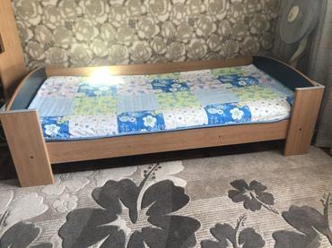 Односпальная кровать с матрасом (Bellona) в Бишкек