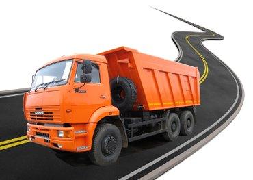 Отсев,песок,щебень и т,д доставка КАМАЗ до 15 тонн гарантия качества! в Бишкек