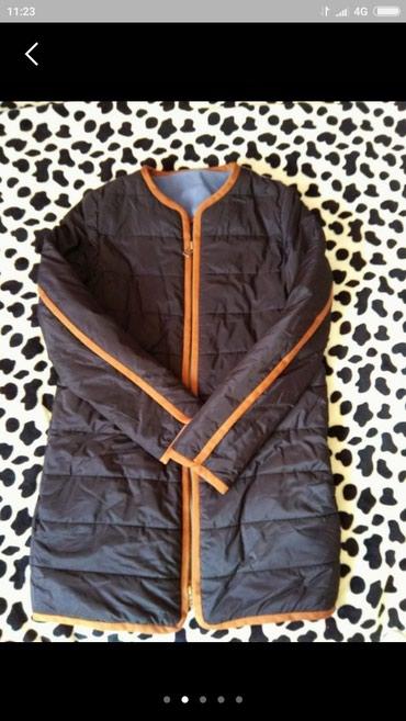 Женская фирменная Деми курточка, качество супер, 44 размер, очень