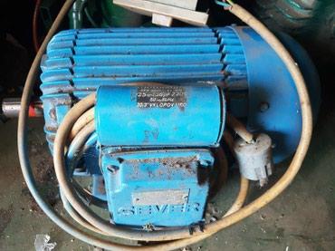 Monofazni el.motor sa stopama 220V 1,5kW 1400 o/min - Priboj