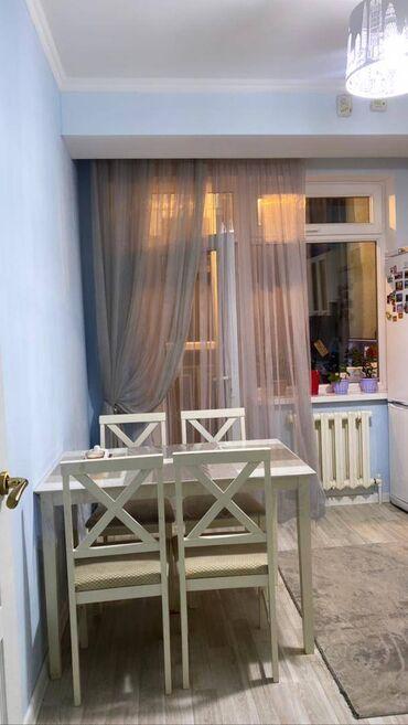 Продажа квартир - Жженый кирпич - Бишкек: Элитка, 1 комната, 40 кв. м Бронированные двери, Видеонаблюдение, Лифт