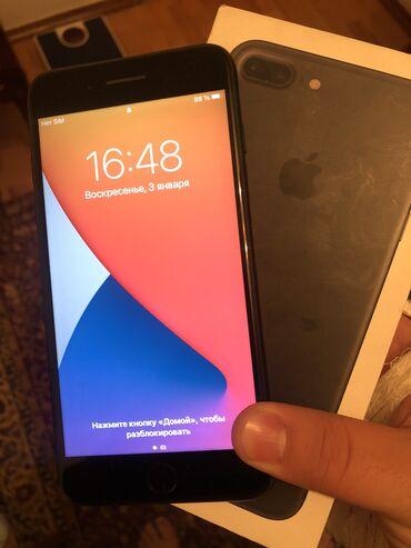 Apple Iphone - Бишкек: Б/У iPhone 7 Plus 128 ГБ Черный