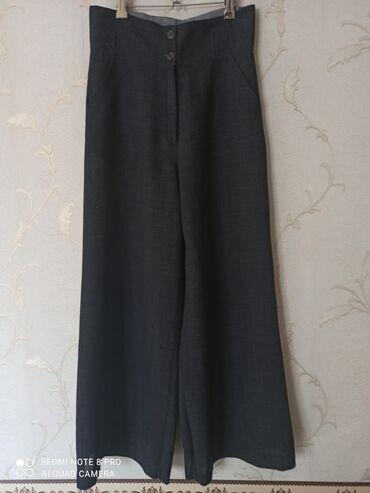 кюлоты длинные в Кыргызстан: Лёгкие брюки кюлоты, качество, длина 106см