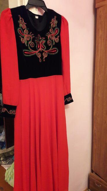 Продаю национальное платье.Размер 42-44.Почти новый.Одевалось 2 раза