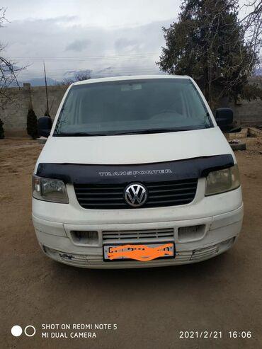 Автомобили - Чолпон-Ата: Volkswagen Transporter 1.9 л. 2004 | 282000 км