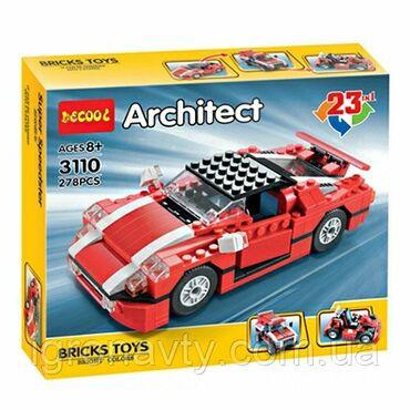 - Azərbaycan: Lego konstruktor Architect 23 in 1