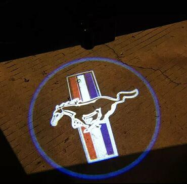 Lunar led - Beograd: Led logo projector za vrata FORD MUSTANG auta UNIVERZALNI   NOVI FORD