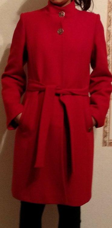 Женское турецкое пальто б/у в отличном состоянии, размер 42 в Бишкек