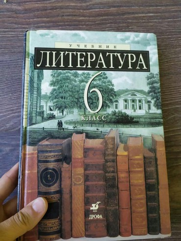 белим обои в Кыргызстан: Книга по литературе Дрофа, 1989г. Белая бумага, твердый переплёт