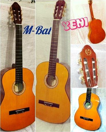 Bakı şəhərində Klassik Gitara 100 aznnen baslayir.Ùzerinde teze çexol hediyye