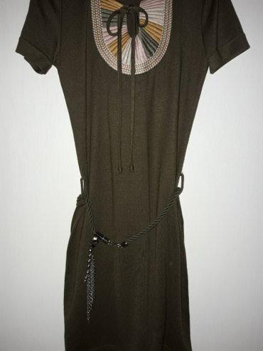 Платье цвета хаки или темно оливковый, в Бишкек