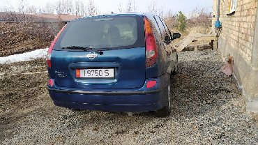 Nissan - Кыргызстан: Nissan Almera Tino 2.2 л. 2001 | 80526 км