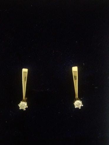 Продаю стильные бриллиантовые серьги в Бишкек