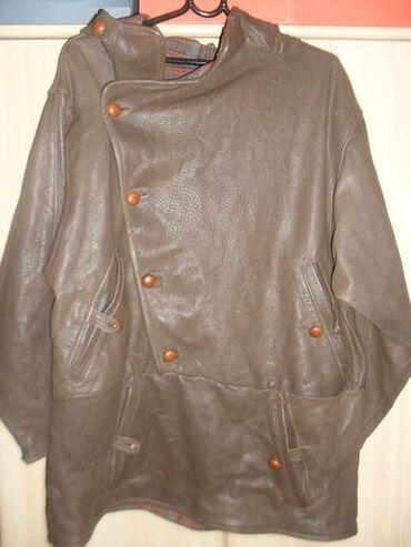 PARIRODNA koža 46-44 + POKLONLuda jakna, kao dux, oblači se preko