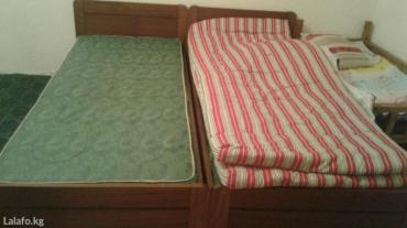 Две односпальные кровати продаю или меняю на двухспальную. г. Токмок в Бишкек