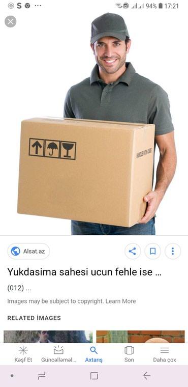 Bakı şəhərində Fəhlələr tələb olunur. Əmək haqqı Gündəlik 15azn.iş saatı
