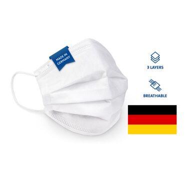 75 elan | TIBBI MASKALAR: Alman istehsalı tibbi maska (50 ədəd), ən keyfiyyətli maskadır