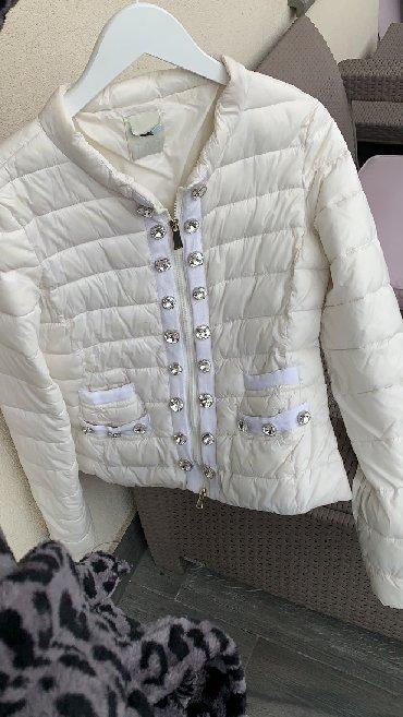 Pinko zenska perjana jakna