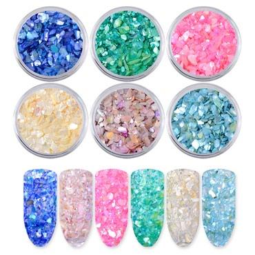Ocean Seashell za dekoraciju nokta (4 boja) - Zajecar