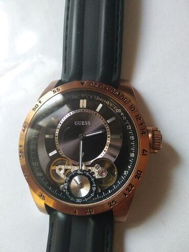 американские бренды мужской одежды в Кыргызстан: Продаю мужские часы мужские брендовые guess USA в отличном состоянии