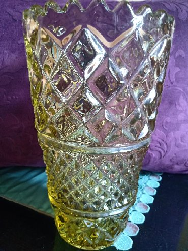 Vise boja - Srbija: Vaza nova Cehoslovacaka Republika. 24% kristala,teska vaza. boja