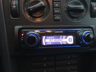 профессиональный микшерный пульт в Кыргызстан: Kenwood оригинал Bluetooth CD USB AUX TUNER +пульт управления все