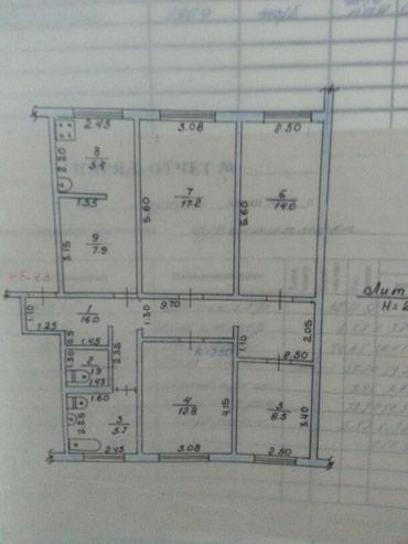 Продаю 4х комнатную квартиру в 8 мк-не по ул. Советской 89тыс$ в Бишкек