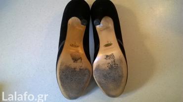 Προσωπικά αντικείμενα - Αθήνα: Παπούτσια καστόρι Καλογήρου Νο.6, φορεμένα ελάχιστα, σε πολύ καλή