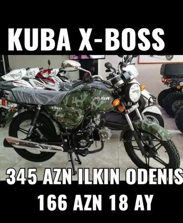 Motosiklet və mopedlər - Azərbaycan: Yalnız bizdə, 2aydan -12aya kimi faizli kredit verilir ən az faizli