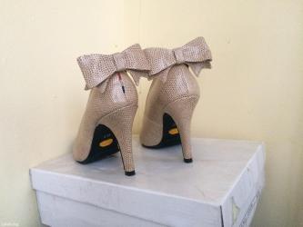 Туфли, носила один раз, в отличном состоянии, размер 36, нежный цвет в Бишкек