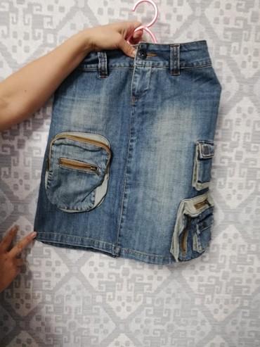 Джинсы - Кок-Ой: Джинсовый костюм 44 размера, в отличном состоянии