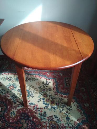 Деревянный прочный стол для гостиной (можно также использовать как