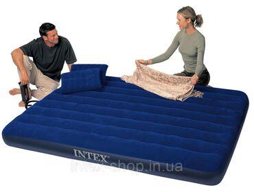 Великолепный двухместный надувной матрас Bestway 67374 с легкостью