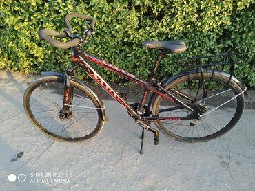 Срочно!!! продаю велосипед новый шоссейныйскоростей:24переключатели