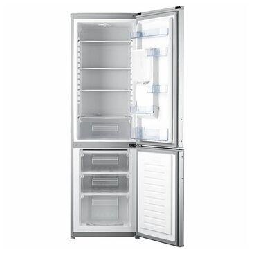 Электроника в Беловодское: Б/у Двухкамерный Серый холодильник Avest