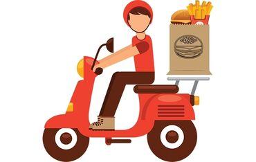 Mopeti ve masini olan kuryer teleb olunur restorana maas yuksekdir