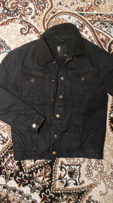 Продается!Утепленная джинсовая куртка terranovaкачество отличноеносил