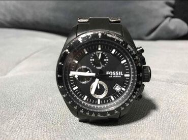 Original sat marke fossil sa malim znacima koriscenja,staklo kao novo