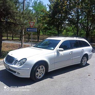 двигатель мерседес 124 2 2 бензин в Кыргызстан: Mercedes-Benz E 220 2.2 л. 2003   260000 км
