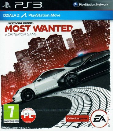 "Bakı şəhərində ""Need for Speed Most Wanted"" (PS3)"