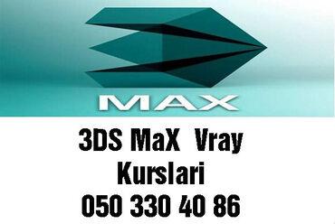 Onlayn 3DS Max kursu Karantin günlərində evdə boş-boş internetdə vaxt