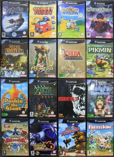Куплю лицензионные диски региона PAL на Nintendo GameCube