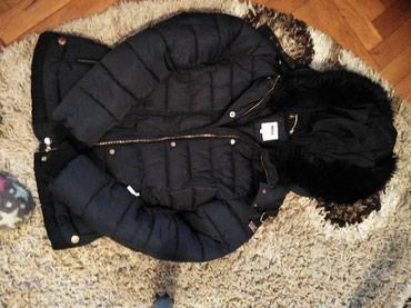 Zenska zimska jakna, topla, bez ostecenja kratko nosena, teget boje - Novi Sad