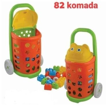 Carape sa prstima - Srbija: Kocke u kolicimaSa ovim kolicima čak možeš da odeš u park i igraš se