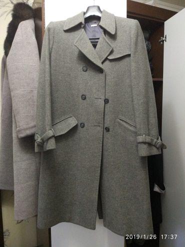 весеннее полупальто в Кыргызстан: Продаю осени-весенняя пальто, размер 44-46, состояние среднее. Качеств