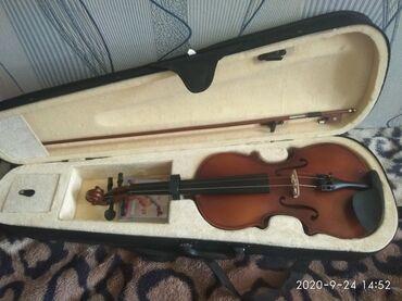 Скрипки - Кыргызстан: Скрипка 4/4 продаётся в связи с уездом