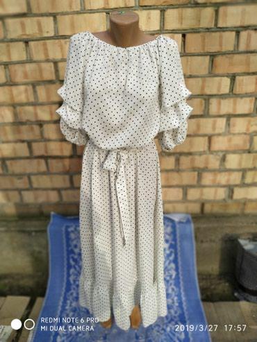 белое летнее платье в Кыргызстан: Новое летнее платье недорого
