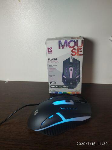 Проводная оптическая мышь Defender(Flash MB-600L)Тип